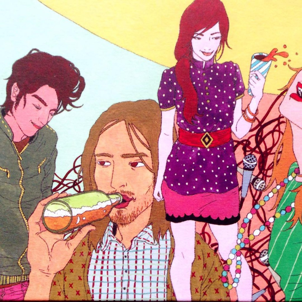 And heres one more! Party time illustration from the coverhellip
