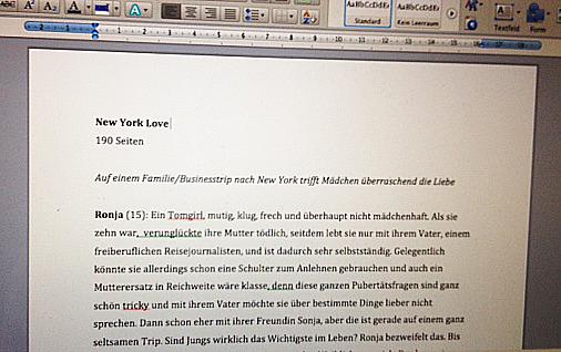 Von der Idee zum Manuskript #6 Das Exposé - Red Bug