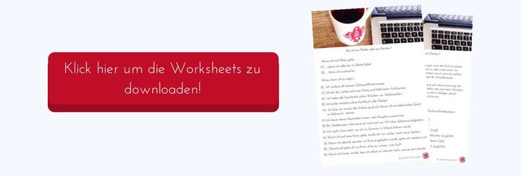 Klick hier, um die Worksheets zu downloaden!