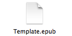 epub template zip