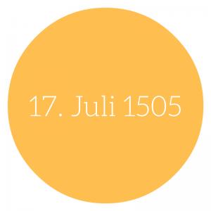 Martin Luther #6 Luther und Einsamkeit - 17.Juli 1505