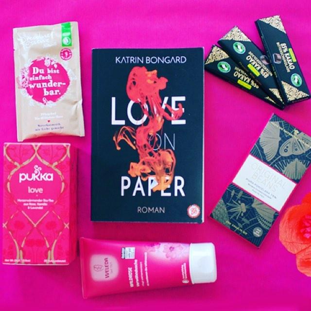 LOVE ON PAPER PCKCHEN GEWINNEN Ein Buchpckchen zu jeder Buchverffentlichunghellip