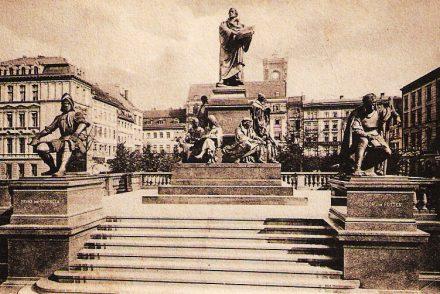 Berliner Lutherdenkmal Postkarte 1904