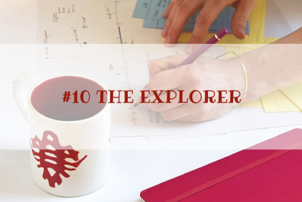 Archetypen #10 THE EXPLORER