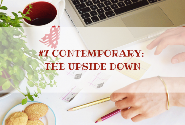 STORY WORLD #6 Contemporary: The Upside Down