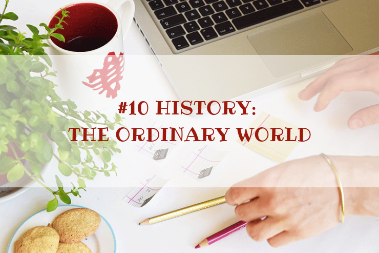 STORY WORLD #11 History: The Upside Down