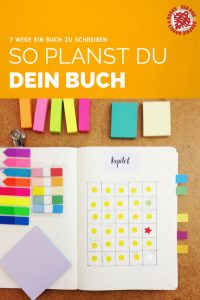 7 Wege ein Buch zu schreiben #6 Mit Planung