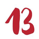 Red Bug Culture Adventskalender 2019 - TAG 13