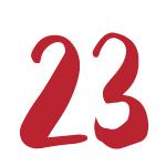 Red Bug Culture Adventskalender 2019 - TAG 23