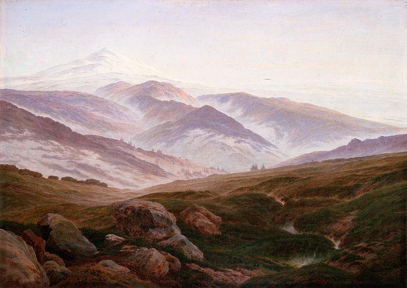 Psychological Landscapes – Elemente einer Landschaft, Caspar David Friedrich - Erinnerungen an das Riesengebirge