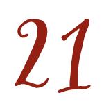 Red Bug Culture Adventskalender 2020 - Tag 21