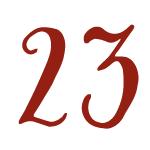 Red Bug Culture Adventskalender 2020 - Tag 23