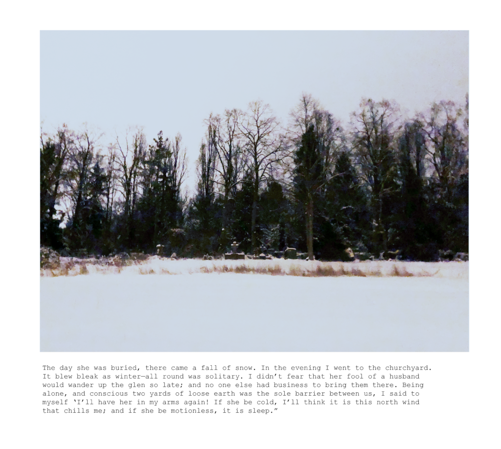 Psychological landscapes #4 - Zeit