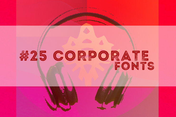 Corporate Fonts Red Bug Radio