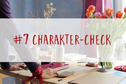 Schreibtipps Charakter Check