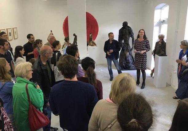 Uwe Carow Ausstellungen Galerie Flier