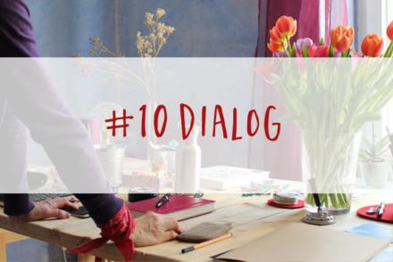 Wie schreibe ich ein Buch? Dialog